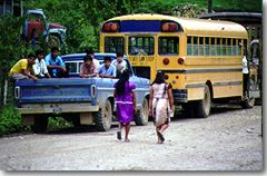 Buses from villages to PG